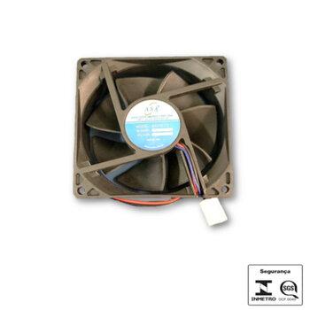 Exaustor Microventilador 08cm 12Volts - Cooler Akasa 80x80x25 DC12V AKASA 8025B-12 COOLER - EXA08 EXAASAExaustor Microventilador 08cm 80x80x25 DC12V A