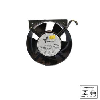 Exaustor Microventilador 18cm - Ventisilva E18CD Bivolts EXA18 Cooler Carcaça Aço Carbono - EXAVSV