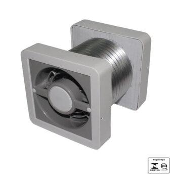 Exaustor para Banheiro e Ambientes até 12m2 - Diâmetro 15cm Renovador de ar Ventokit C280A 150mm Bivolts Vazão 280m3h