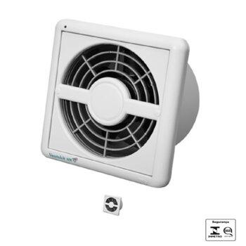 Exaustor para Banheiro e Ambientes até 12m2 - Diâmetro 15cm Renovador de ar Ventokit C280A NM Luz Indicadora Bivolts Vazão 280m3h