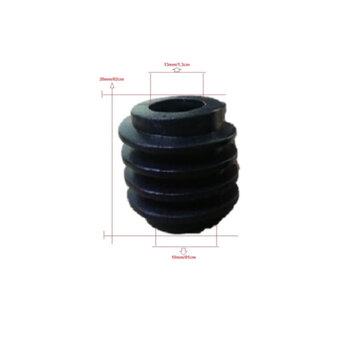 Engrenagem Rosca Sem Fim para Ventilador Dômina 50/60cm - Encaixe em Eixo 13mm - Rosca Sem Fim Domina 50/60cm