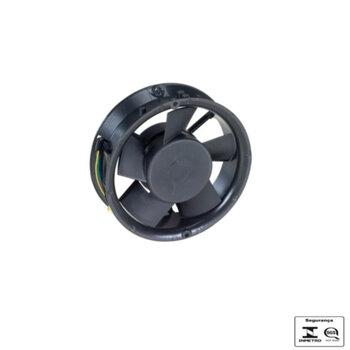 Exaustor 15cm Bivolts Microventilador Axial E15ALCD Ventisilva - Vazão 414m3h - Cooler Carcaça Alumínio 150mm