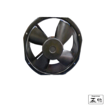 Exaustor de 26cm Ventisilva Bivolts - Microventilador Axial Rax 2CD - Vazão 1.404m3h - Carcaça Aluminio 256x265x85mm