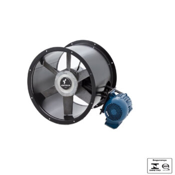 Exaustor de 50cm Ventisilva E50MTR Bivolts Axial com Transmissão por Correia - Diâmetro 50cm - Vazão 8.400m3/h - Motor Monofásico