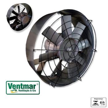 Exaustor de 57cm para Churrasqueira Biv Vazão 15.000m/h - Ventisol Industrial para Serviço Pesado 570mm 110/220v - Helice 8Pas Metal