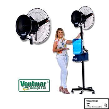 Climatizador de Ar Climattize Easy Pulverizante 127Volts Reservatório 2,5Litros - Vazão 5500 m3/h p/Até 70m² - Portátil c/Garrafão c/Rodinhas