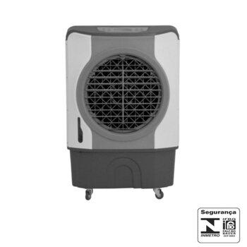 Climatizador de Ar Evaporativo MWM Portátil 41Litros 127v190w M4500 Vazão 4.500m3/h Área Até 50m2 Painel Digital Controle 3Velocidades