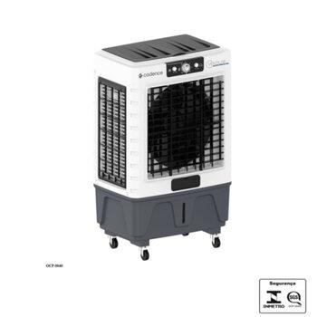 Climatizador de Ar Evaporativo Portátil 045Litros 127v180w Cadence CLI545 Vazão 4.500m3h p/Área Até 40m2 - Controle 3 Velocidades