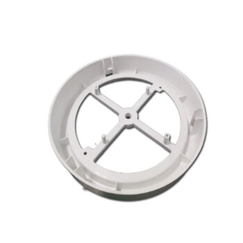 Plafon Suporte da Luminária do Ventilador Ventisol Flow para Placa de Led - Base do Globo Cúpula Plástica e Suporte da Placa de Led