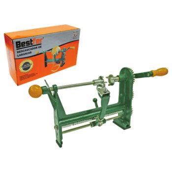 Descascador de Laranjas Manual em Aço - Descascador Manual de Laranjas - Descascador de Frutas com Manivela Manual em Metal BFH1321
