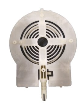 Tampa DIANTEIRA do Motor Ventilador Venti-Delta VENTURA 50/60cm - Tampa do Motor Dianteira Osc.50/60cm - Encaixe p/Rolamento 6000ZZ
