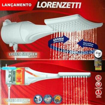 Chuveiro Ducha Lorenzetti Loren Shower Ultra Eletrônica 127v 5500Watts - Ducha Loren Shower Elêtronica