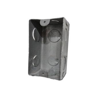 Caixa de Luz em Metal - Caixa Fundo 4x2 Plasmar