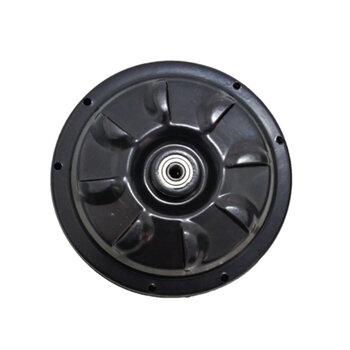 Motor para Ventilador de Teto Venti-Delta New Light 220v cor Preta p/3Pás Modelo c/Rosca p/Luminária - Usar c/Capacitor 2,5uF (2 ou 3 Fios)