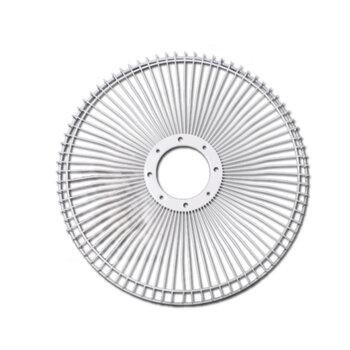 Grade para Ventilador Loren Sid 30cm - Grade em Metal cor Branca - Serve p/Dianteira ou Traseira - *Vendida p/Unidade