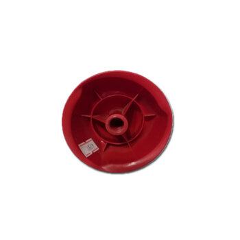 Porca da Hélice Ventilador Ventisol Modelo Power70 / Power 70m - Bico Vermelho com Rosca Esquerda para Eixo 12,0mm