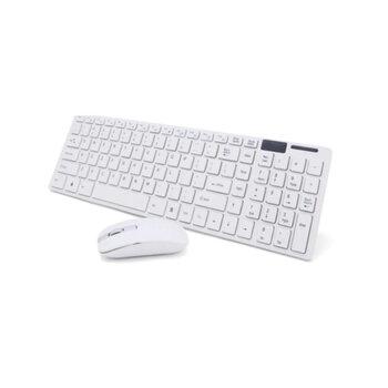 Kit Teclado e Mouse SEM Fio Exbom BK-s1000 - *Caixa não Original - Preço Especial p/Liquidação*