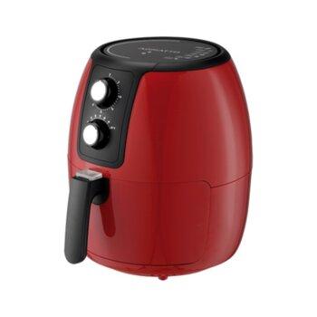 Fritadeira Elétrica Vermelha Air Fryer Supremma 3,6l Agratto FESV-01 127Volts 1400W Fritadeira sem Óleo
