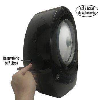 Climatizador de Ar Joape BOB Super Pulverizante 220Volts Suporte de Parede - 148W Vazão 1700m3h - p/de 15 a 20m2 - Ligar em Rede HD