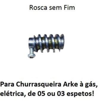 Engrenagem Rosca SEM Fim do Motor Girador para Assador Arke - Rosca SEM Fim 17x31xF.8,0MM do Motor para Churrasqueira Giratória Arke