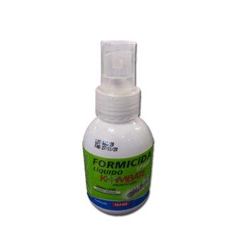 Formicida Líquido Spray - 100 ml - Kombate - Eficaz contra formigas doceira (Monomorium Floricola)
