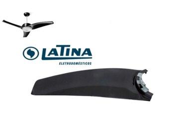 Pá Hélice para Ventilador de Teto LATINA Silenzio Air Lumen VT673 VT633 - cor Preta Black *Vendida p/Unidade