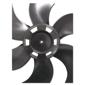 Hélice para Ventilador Ventisol 40cm Turbo6 Preto 6Pás Fixar c/Porca Rosca Esquerda na Ponta do Eixo 8,0mm - Helice Aquaclima Master Home