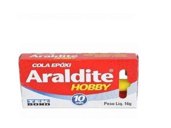 Adesivo Araldite Hobby 16g - 10min (colagem)