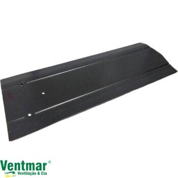 Pá Hélice para Ventilador de Teto Venti-Delta Comercial Delta Plus Eco / Primavera  - Modelo Metal cor Preta - p/Garra GRANDE - Vendida p/Unidade