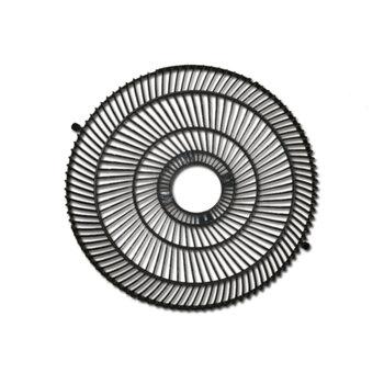Grade para Ventilador Ventisol Antigo 50cm Plástica cor Preta Serve p/Dianteira ou Traseira p/Ventilador Coluna/Mesa/Parede - *Vendida p/Unidade