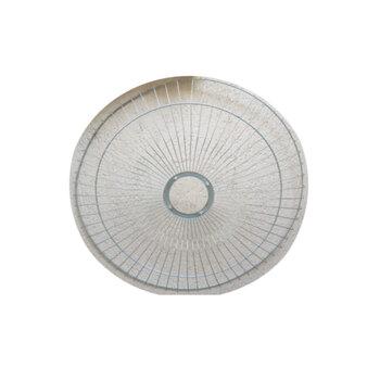 Grade para Ventilador ARGE 60cm Antigo - Metal Cromada - Ventilador Coluna ou Parede - Serve p/Dianteira ou Traseira - Vendida p/Unidade