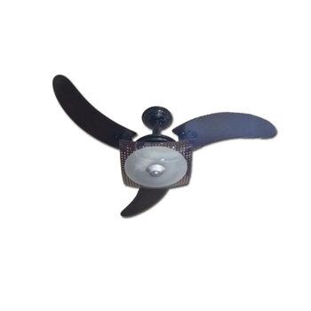 Ventilador de Teto Naulu RioPreLustres 127v - Preto Linha Super Luxo - Chave Controle de Velocidade *LIQUIDAÇÃO - ÚLTIMAS UNIDADES