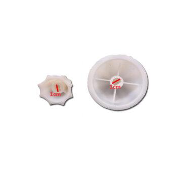 Carambola para Espremedor de Suco TRON Master Super Hiper - KIT Laranja/LIMÃO - Encaixe 10mm c/Meia Lua - Delta Suco Extrasuk PIC Hiper Requinte / Ste