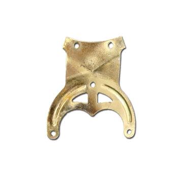 Garra para Pá Hélice de Ventilador de Teto Importado - Semi-Nova - cor Dourada *Conferir as medidas na ImagemS