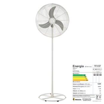 Ventilador de Coluna 70cm Solaster Veneza Plus Bivolts 188/226W Branco/Cinza Hélice 3Pás Grade Metal - Ventilador Solaster Veneza Plus