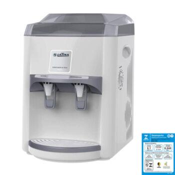 Filtro Purificador de Água Latina PA355 LTPA355A1S 220V Branco - Refrigerado com Compressor