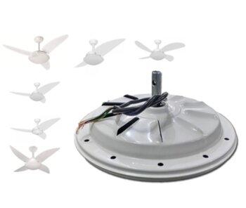 Motor para Ventilador de Teto Volare VENTAX VENTAX10 220V 120W 3 Velocidades - Branco - *Usar c/Capacitor de 3,0uF