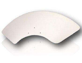 Pá Hélice para Ventilador de Teto Tron Aventador - MDF Cor Branca com Furação Original para Ventilador Tron Aventador - Vendida p/Unidade