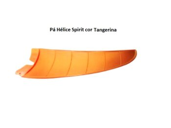 Pá Hélice para Ventilador de Teto Spirit Tangerina Plástica para Modelos VT200 201 202 203 300 301 302 303 - *Vendida p/Unidade - Original