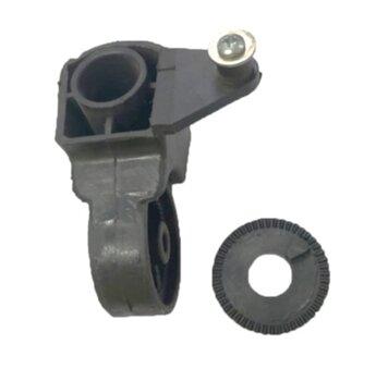 Mecanismo do Oscilante Suporte do Motor Ventilador Solaster Dal Moro Acapulco Veneza cor Preta - Suporte de Articulação VT Oscilante - Encaixe 00,0mm