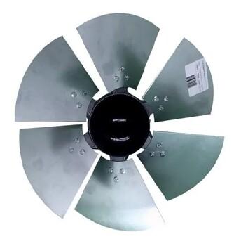 Hélice para Exaustor Ventisilva E40MTR E40TTR 40cm 6Pás Alumínio c/CUBO Central Aluminio Fundido - Encaixe 17,0mm Fixada c/Parafuso Lateral