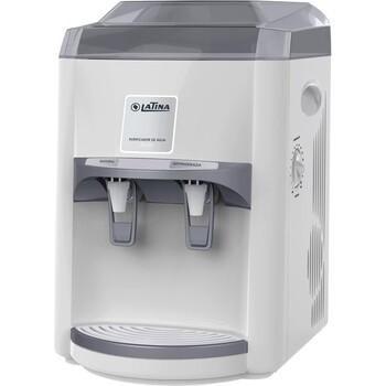 Filtro Purificador de Água Latina PA355 127v Branco - LTPA355A1S Refrigerado com Compressor + Maior Eficiência - Capacidade 4Litros