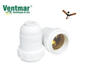 Soquete para Ventilador de Teto Venti-Delta - Delta Light - Soquete para Lâmpada - SEM Miolo/Casquilho SEM Porcas - SEM Nipel