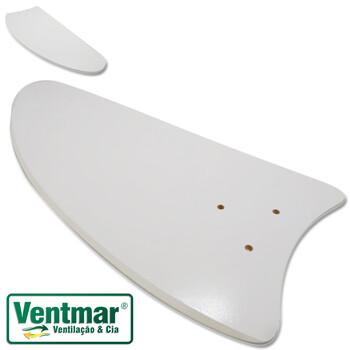 Pá Hélice Do Ventilador De Teto Volare Ventax - Ventax10 - Pá De Madeira MDF Modelo Iris Branca - Se