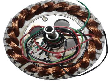 Estator Bobinado para Ventilador de Teto SPIRIT 220Volts - Todos os Modelos - Usar c/Cap.03,0uF* - *SALDÃO Item Usado/Semi-Novo - Garantia 90dias