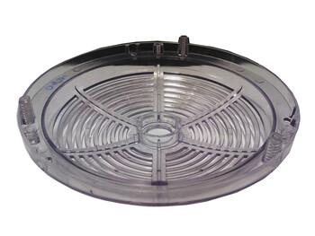 Carcaça Inferior do Motor do Ventilador Efyx - Ventilador Venti-Delta Lunik - Cristal Plástica
