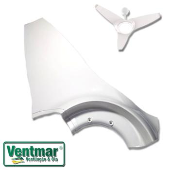 Pa Hélice para Ventilador de Teto Ventisol Flow Branco PA0589PL - Pá Plástica Branca - *Vendida p/Unidade 1 = 1 Pá