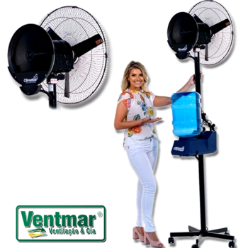 Climatizador de Ar Climattize Easy Portátil 127V 20Litros Pulverizante - Vazão 5500 m3/h Até 70m²
