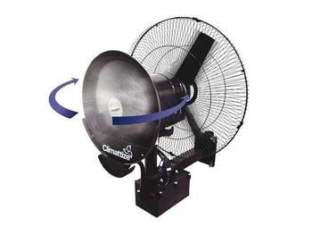 Climatizador De Ar Climattize Fix Giro 127Volts com Ventilador de Parede de 65cm - Pulverizante