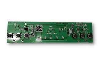 Placa de Comando do Painel LED Funcões 220v Climatizador Mega Brisa MC70 - Placa de Circuitos